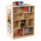 Guidecraft Double-Sided Bookcase