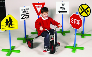 GUIDECRAFT DRIVETIME SIGNS - SET OF 6 - Click to enlarge