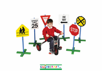 Guidecraft Drivetime Signs - Set of 6