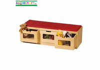 Guidecraft EZ View Storage Bench