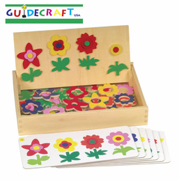 GUIDECRAFT Flower Match Garden Patch
