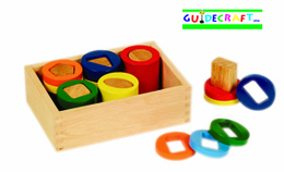 GUIDECRAFT GEOMETRIC COUNTING CYLINDERS