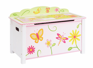 Guidecraft Gleeful Bugs Toy Box
