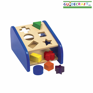 GUIDECRAFT Hide 'n Seek Shape Sorter - Click to enlarge