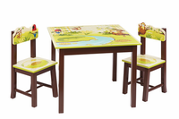 Guidecraft Jungle Party Table and Chairs Set