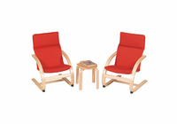 Guidecraft Kiddie Rocker Chair Set