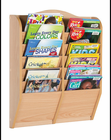 Guidecraft Magazine Rack 12 Section