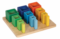 Guidecraft Nesting Sort Stack Cubes