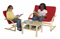 Guidecraft Nordic Rocker Reading Area