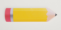 Guidecraft Pencil Red/Yellow