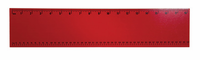 Guidecraft Personalized Wall Art Ruler Red