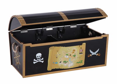 GUIDECRAFT Pirate Treasure Chest - Click to enlarge