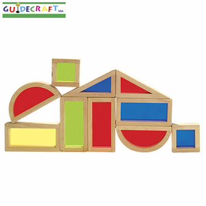 GUIDECRAFT Rainbow Blocks Set - Click to enlarge