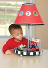Guidecraft Retro Racers Lamp