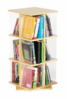 Guidecraft Rotating Book Display 3 Tier