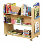 Guidecraft School Library Cart