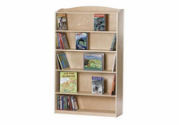 "Guidecraft Sgl Side Bookcase-60""H"