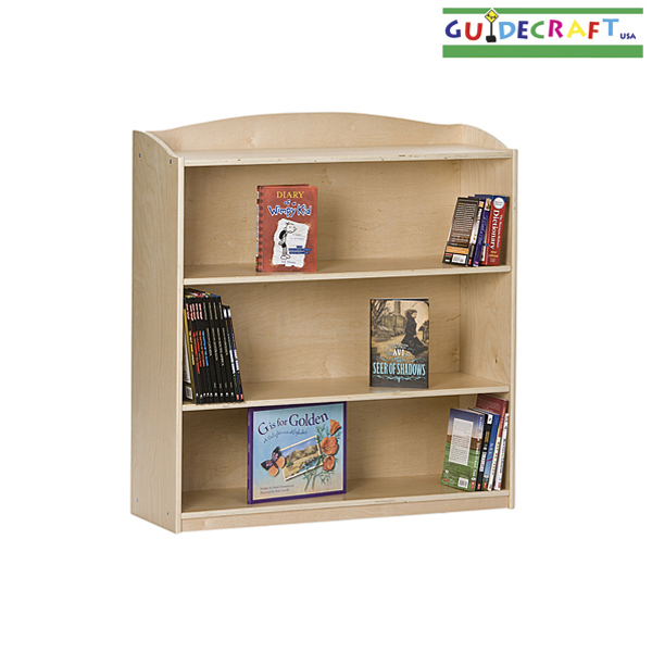 GUIDECRAFT Single-Sided Bookcase
