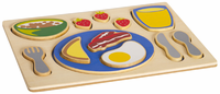 Guidecraft Sorting Food Tray