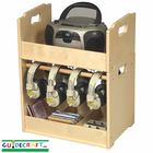 Guidecraft Stacking Audio Storage Units