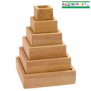 GUIDECRAFT Stacking Rainbow Pyramid - Click to enlarge