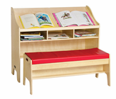 Guidecraft Study Center with Bench