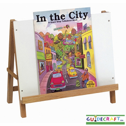 GUIDECRAFT Tabletop Big Book Easel - Click to enlarge