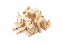 Guidecraft Tabletop Building Blocks-Start
