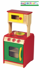 GUIDECRAFT Toddler Wooden Kitchen Island