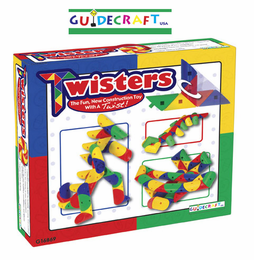 GUIDECRAFT Twisters 91 Pieces - Click to enlarge