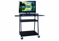 Hamilton Electronics Wide Body Flat Panel TV Cart