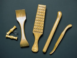 Heavy-Duty Wooden Pottery Kit