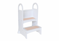 High Rise Step Up White