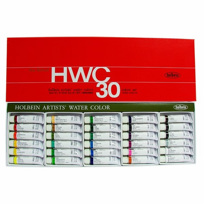 Holbein ARTIST WATERCOLOR SET OF 30 - 5ml