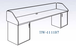 In-Line Two Base Workstation