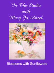 �In the Studio with Mary Jo Anzel�  Watercolor Videos (DVD/VHS) - Click to enlarge