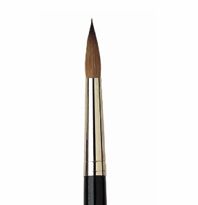 ISABEY 6227Z PURE KOLINSKY SABLE ROUND Size 14 - Click to enlarge
