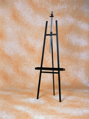 ITALIAN STEEL LYRE EASEL - Click to enlarge