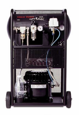 Iwata GREAT WHITE SHARK Airbrush COMPRESSOR - Click to enlarge
