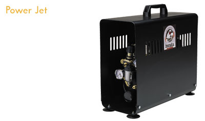 Iwata Studio series POWER JET (2X SPRINT POWER& SMART TECHNOLOGY) Compressor - Click to enlarge