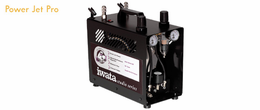 Iwata Studio series POWER JET PRO (2X SPRINT POWER& SMART TECHNOLOGY) Compressor - Click to enlarge