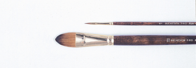 Jack Richeson & Co. Inc. Kolinsky Sable Oil Brush, Filbert