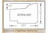 "25"" Jack Richeson & Co. Inc. Lightweight Stretcher Bar #894018"