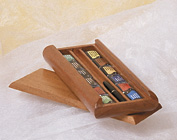 Jack Richeson & Co. Inc. St. Petersburg Watercolor Set of 12 in Wooden Slide Top Box