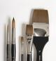 """Jack Richeson & Co. Inc. Synthetic Blend Spalter Brush Size, 4"""""""