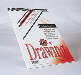"Jack Richeson's 9""  x 12"" DRAWING PAD"