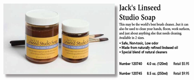Jack's Linseed Studio Soap
