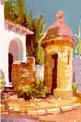 JANET D'ESOPO Art Instruction Video (DVD): Landscape Painting, Old San Juan