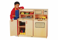 Jonti-Craft� 4-in-1 Kitchen Activity Center