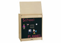 Jonti-Craft� Big Book Easel - Flannel